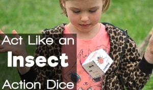 act like an insect action dice