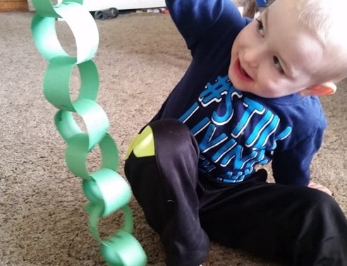 making the polymer chain