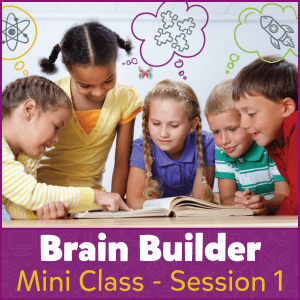 Brain Builder Mini Class - Session 1