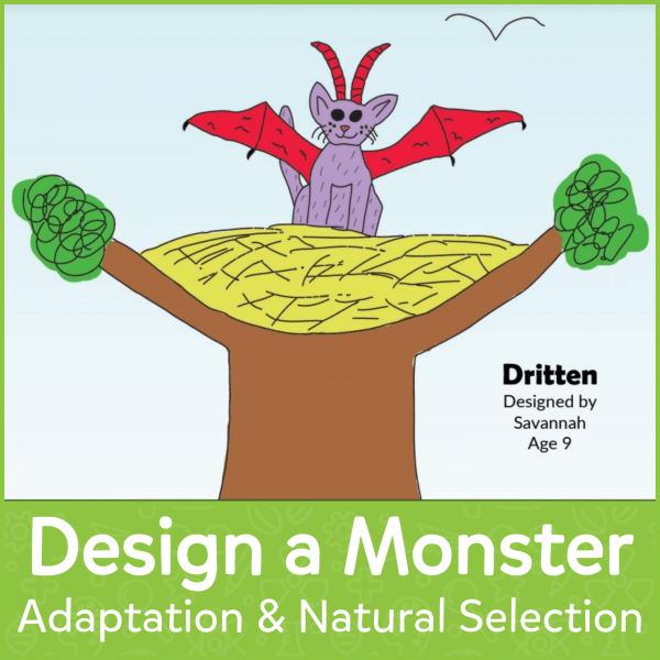 Design a Monster Adaptation & Natural Selection